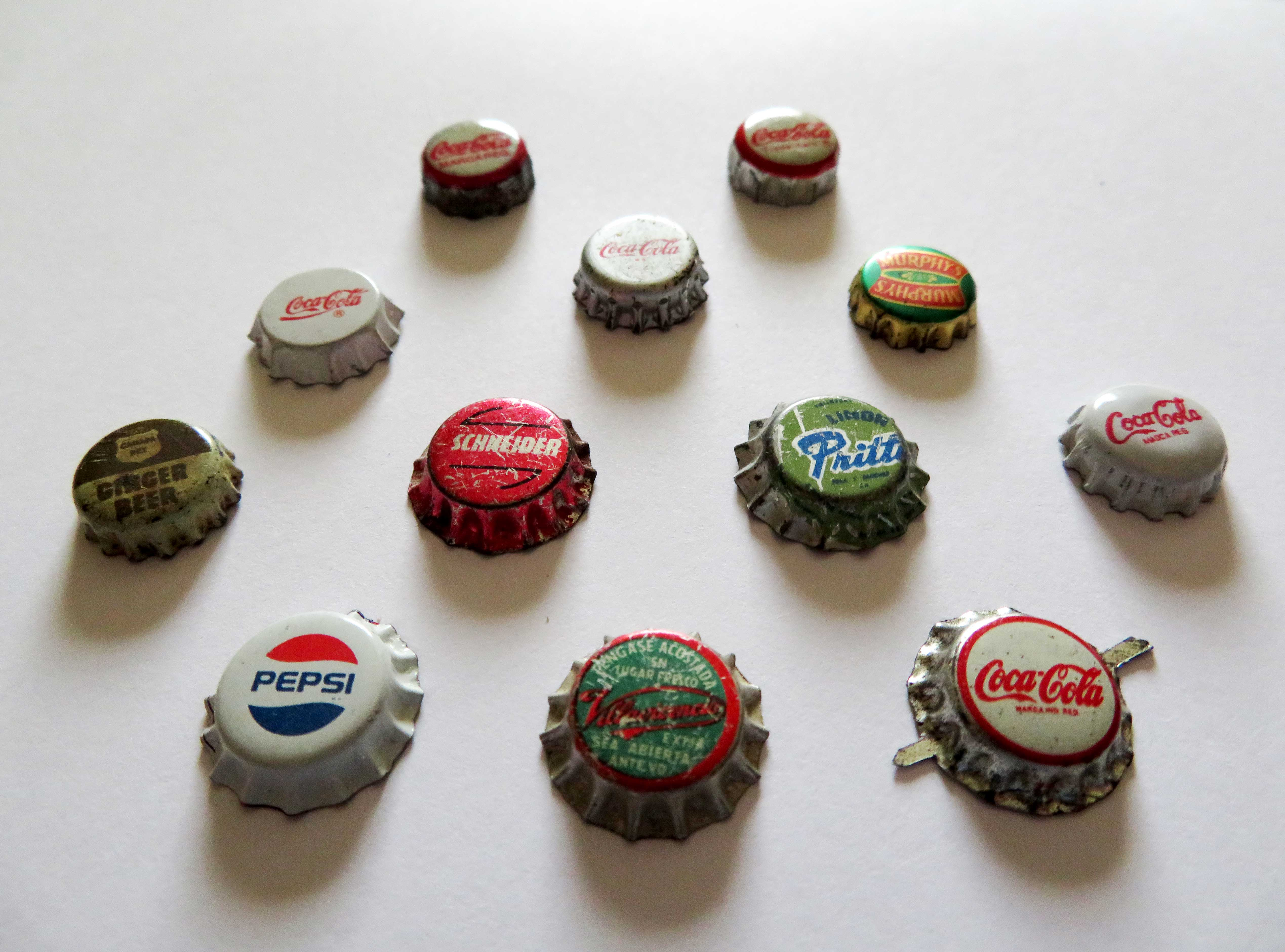 Miniature Bottle Caps